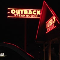 Photo taken at Outback Steakhouse by Chrissy R. on 11/18/2013