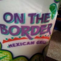 Photo taken at On The Border Mexican Grill & Cantina by Tony on 11/23/2012