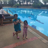 Photo taken at TOT Sport Complax@Swimming Pool by Emmanuel G. on 12/10/2014