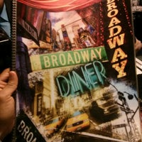 Photo taken at Broadway Diner by Abad M. on 3/31/2013