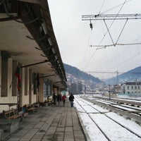 Photo taken at ЖП Гара Своге (Svoge Railway Station) by Alexander A. on 1/9/2016