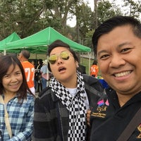 Photo taken at Griffith Park - Artificial Turf Soccer Field by Suriya S. on 5/25/2015