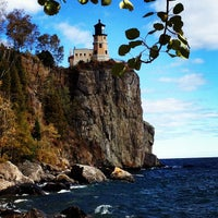 Photo taken at Split Rock Lighthouse by Rachel W. on 9/23/2012