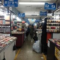 Photo taken at Dongdaemun Market by Milano L. on 12/28/2012