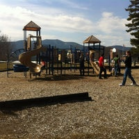 Photo taken at Schouler Park by Nic B. on 3/19/2012