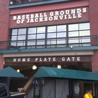 Photo taken at Bragan Field at the Baseball Grounds of Jacksonville by Bryen G. on 8/4/2012