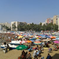 Photo taken at Playa El Salaret / Los Locos by Richard G. on 8/5/2012
