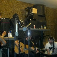 Photo taken at Flood Music Studios by Benjamin P. on 9/24/2011