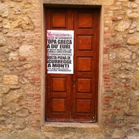 Photo taken at Caffe' Culturale La Ribalta by Simone Santo on 9/3/2012