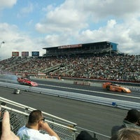 Photo taken at AAA Auto Club Raceway by Don S. on 2/11/2012