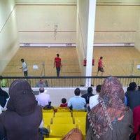 Photo taken at Squash court by Daiya A. on 10/24/2011