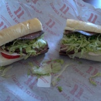 Photo taken at Jimmy John's by Carie A. on 8/20/2012