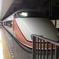Photo taken at Tobu Asakusa Station (TS01) by Rie I. on 3/23/2012