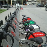 Photo taken at Station BIXI by JulienF on 5/8/2011