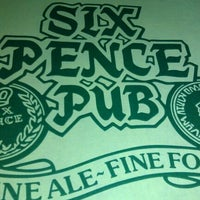 Photo taken at Six Pence Pub by Robert M. on 12/27/2011