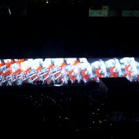 Photo taken at Roger Waters: The Wall by maria T. on 7/8/2012