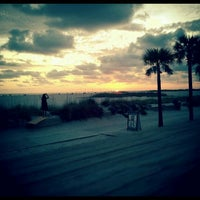 Photo taken at Sloppy Joe's On The Beach by Cory C. on 5/8/2012