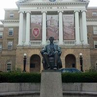 Photo taken at Bascom Hall by Bradley N. on 7/10/2012