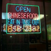 Photo taken at Chows Chinese by tater on 10/25/2011