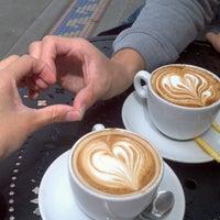 Photo taken at Espresso Vivace by Elizabeth L. on 7/16/2012