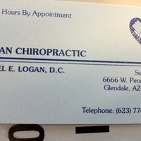 Photo taken at Logan Chiropractic by Nicole M. on 9/27/2011