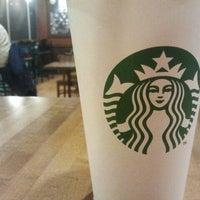 Photo taken at Starbucks by Christina F. on 1/6/2012