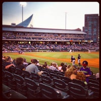 Photo taken at Louisville Slugger Field by Jason B. on 8/7/2012