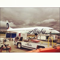 Photo taken at Bellingham International Airport (BLI) by Albert L. on 7/20/2012