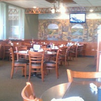 Photo taken at Faros Family Restaurant by Mike D. on 11/1/2011