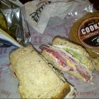 Photo taken at Jimmy John's by Red D. on 9/1/2012