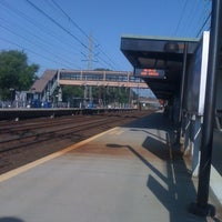 Photo taken at Metro North - Noroton Heights Train Station by Guy S. on 6/28/2012