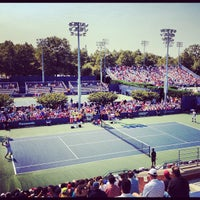 Photo taken at Court 7 - USTA Billie Jean King National Tennis Center by Greg B. on 8/30/2012