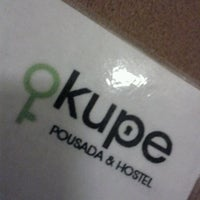 Photo taken at Okupe Hostel by Maria Angélica P. on 5/10/2012