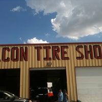 Photo taken at Falcon Tire Shop by Kaleb C. on 7/20/2011