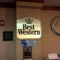 Photo taken at Best Western Convention Center Hotel by Rich C. on 9/5/2011