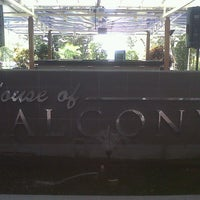 Photo taken at House of Balcony by Roy S. on 7/24/2012