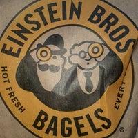 Photo taken at Einstein Bros Bagels by David J. on 10/26/2011