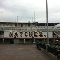 Photo taken at Steamboat Natchez by Robin R. on 7/23/2011