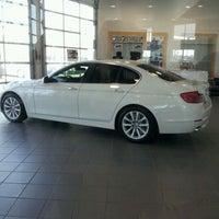 Photo taken at Maranello BMW MINI Vaughan West by Sotha O. on 4/9/2012