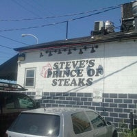 Photo taken at Steve's Prince of Steaks by Jason R. on 8/30/2011