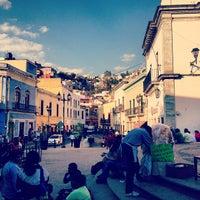 Photo taken at Plazuela de los Ángeles by Daniiel R. on 3/8/2012