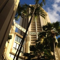Photo taken at Hyatt Regency Waikiki Beach Resort and Spa by Henry K. on 1/21/2012