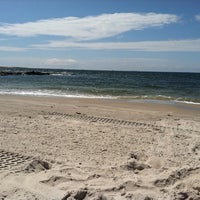 Photo taken at Point Lookout Beach (Town Park) by Jennifer S. on 8/4/2011