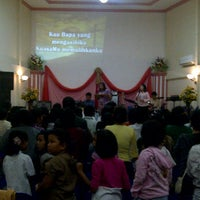 Photo taken at Gereja Penyebaran Injil (GPI) by wuri w. on 10/24/2011