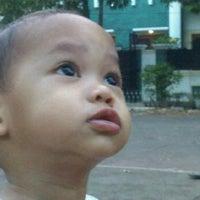 Photo taken at Lapangan Basket RW.01 by Ari Muharam M. on 10/23/2011