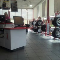 Photo taken at Discount Tire® Store by Andrew M. on 8/29/2012