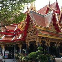 Photo taken at Wat Thep Leela by Nakorn C. on 5/19/2012
