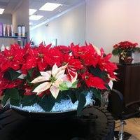 Photo taken at Elegant Hair Salon by Niloo V. on 11/30/2011