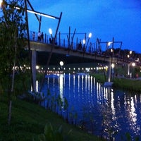 Photo taken at Kelong Bridge by Jackson T. on 10/23/2011