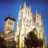 Photo taken at Washington National Cathedral by Zuhair A. on 8/4/2012